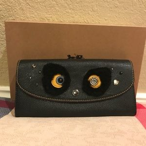 BNWT!! Coach Bear Slim Envelope Wallet